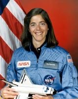 "NASA Astronaut Barbara Morgan 10"" x 8"" Colour Portrait"